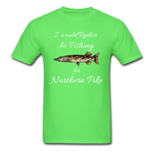Load image into Gallery viewer, I would rather be fishing for Northern Pike - kiwi