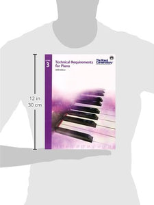 Technical Requirements for Piano 2015 Edition - Level 3