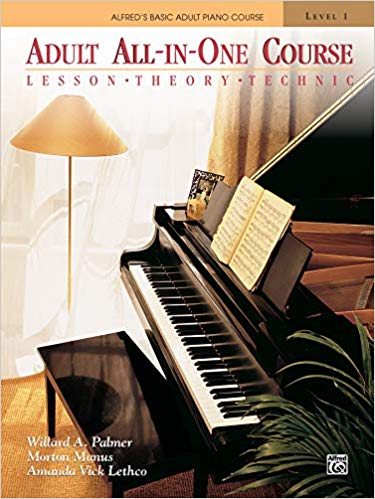 Alfred's Basic Adult All-in-One Course, Bk 1: Lesson * Theory * Technic