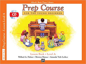 Alfred's Basic Piano Prep Course Lesson Book Level A Paperback – 2004