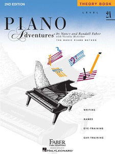 Faber Piano Adventures Level 2A - Theory Book: Piano Adventures Paperback – 1993