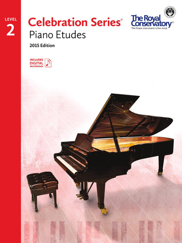 Celebration Series, 2015 Edition Level 2 Piano Etudes