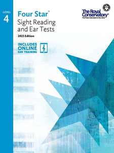 Four Star® Sight Reading and Ear Tests Level 4
