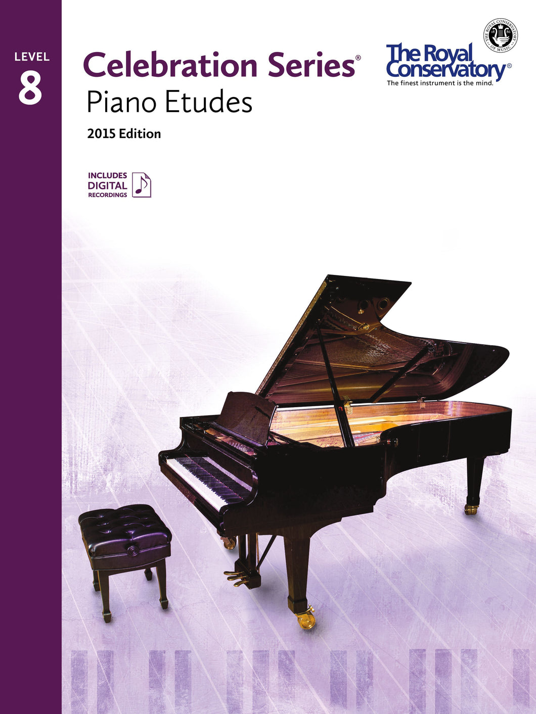 Celebration Series, 2015 Edition Level 8 Piano Etudes