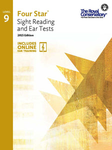 Four Star® Sight Reading and Ear Tests Level 9
