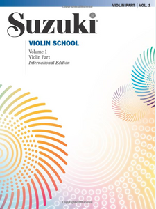 Suzuki Violin School, Vol 1: Violin Part - International Edition