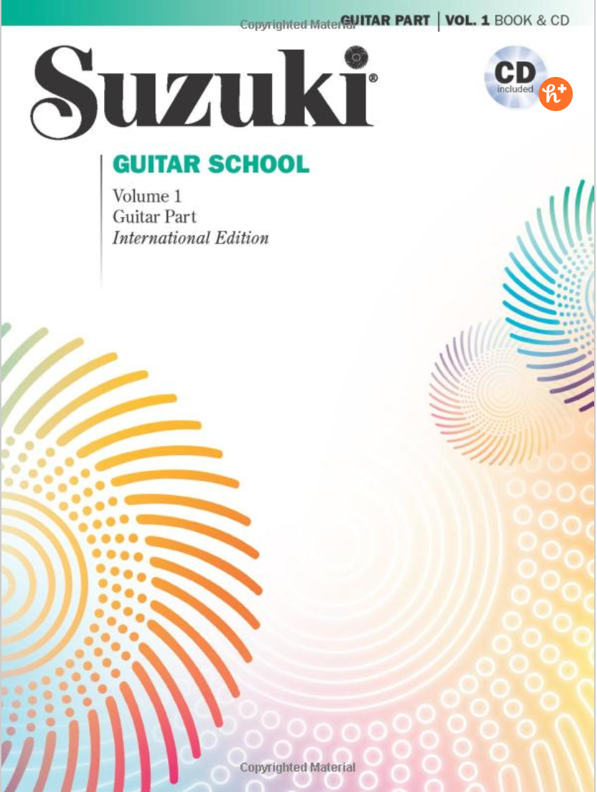 SUZUKI GUITAR SCHOOL MUSIC BOOK & CD VOLUME 1 REVISED EDITION