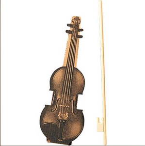 Cardboard Violin and Bow