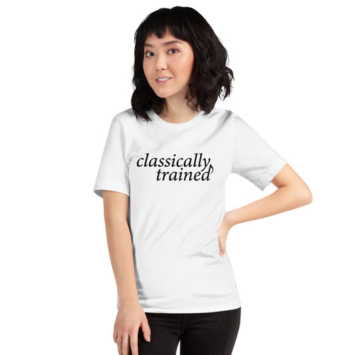 Classically Trained: Short-Sleeve Unisex T-Shirt