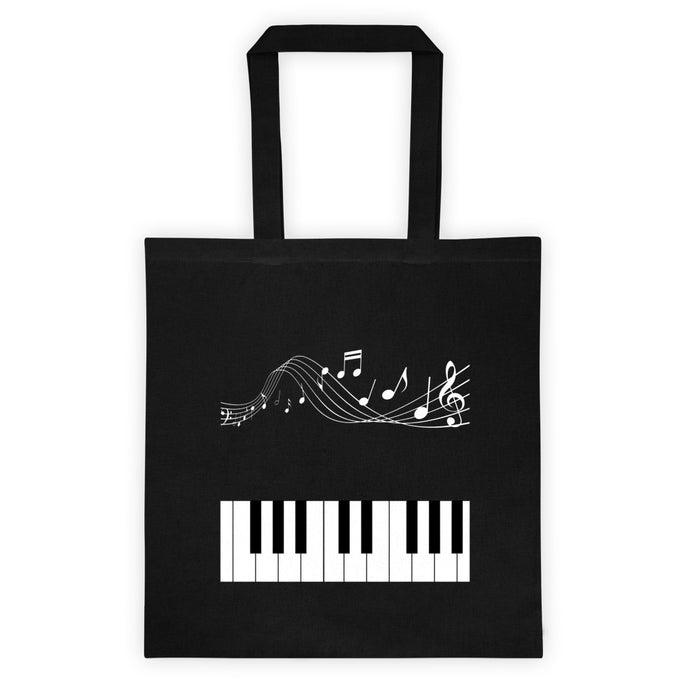 Black and White Music Bookbag