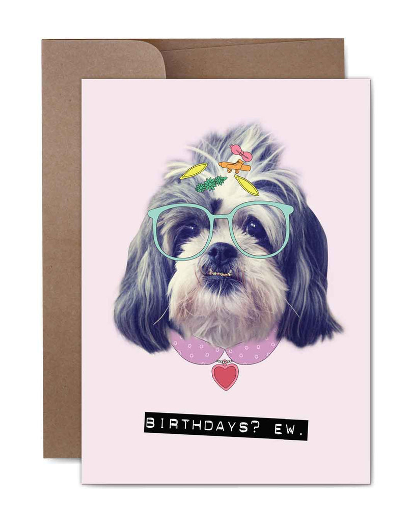 Birthdays Ew Birthday Card Front