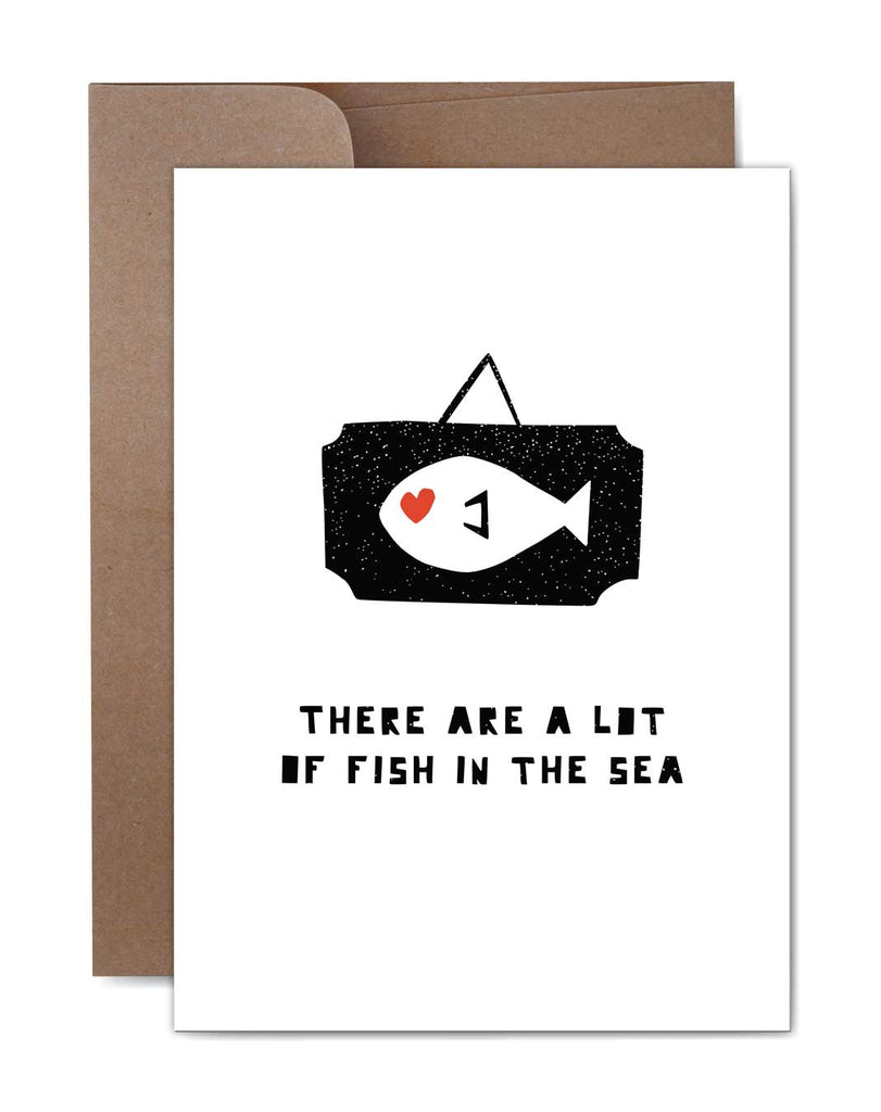 Fish in the Sea Love Card