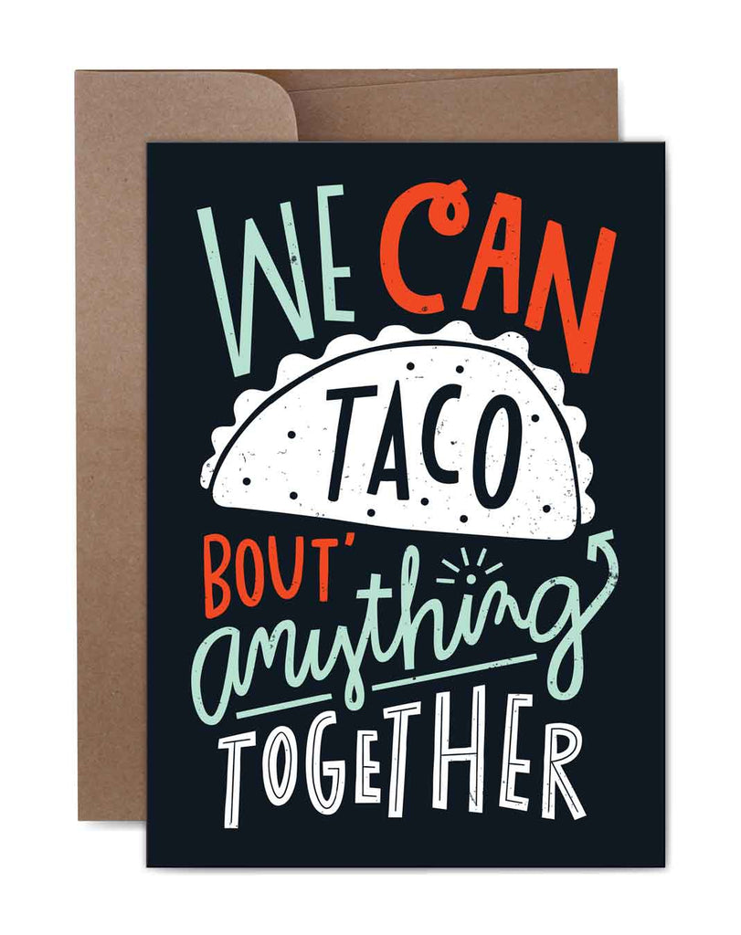 Taco Bout Anything Birthday Card Front