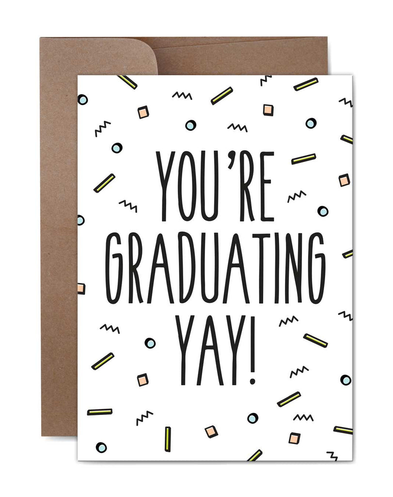 Yay! Graduation Card