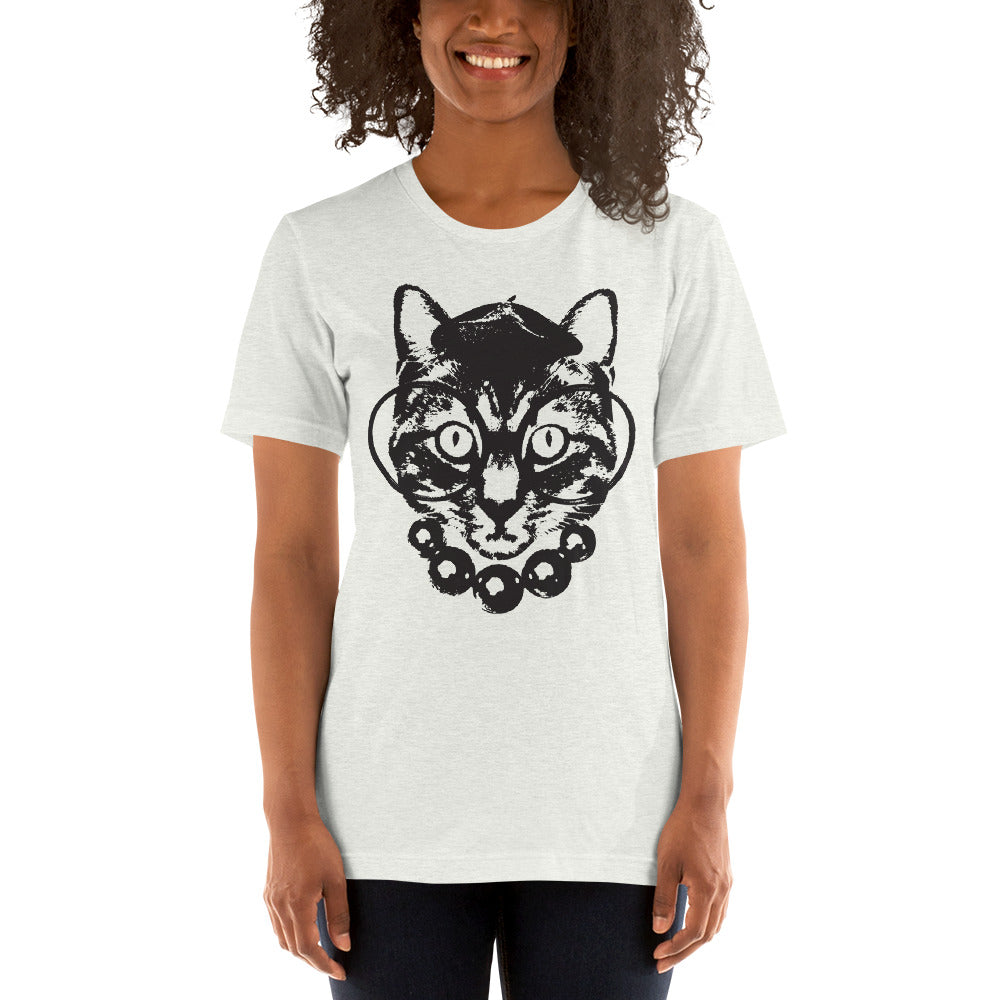 Women's Purrrfection Darling Graphic Tee - Ash