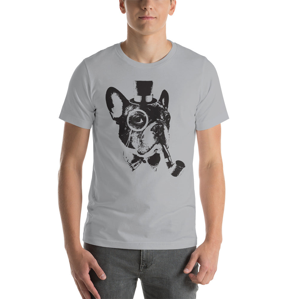 Men's Yaaasss Sir Graphic Tee - Silver