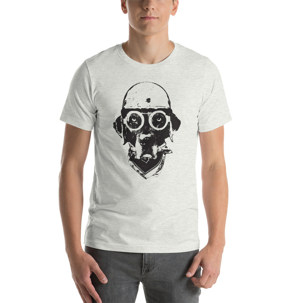 Men's Ride On Graphic Tee - Ash