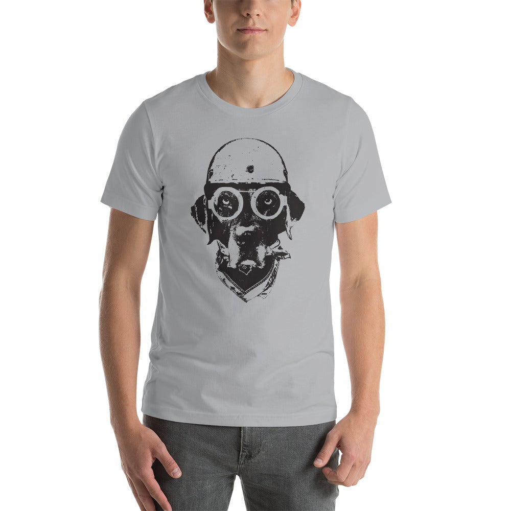 Men's Ride On Graphic Tee - Silver