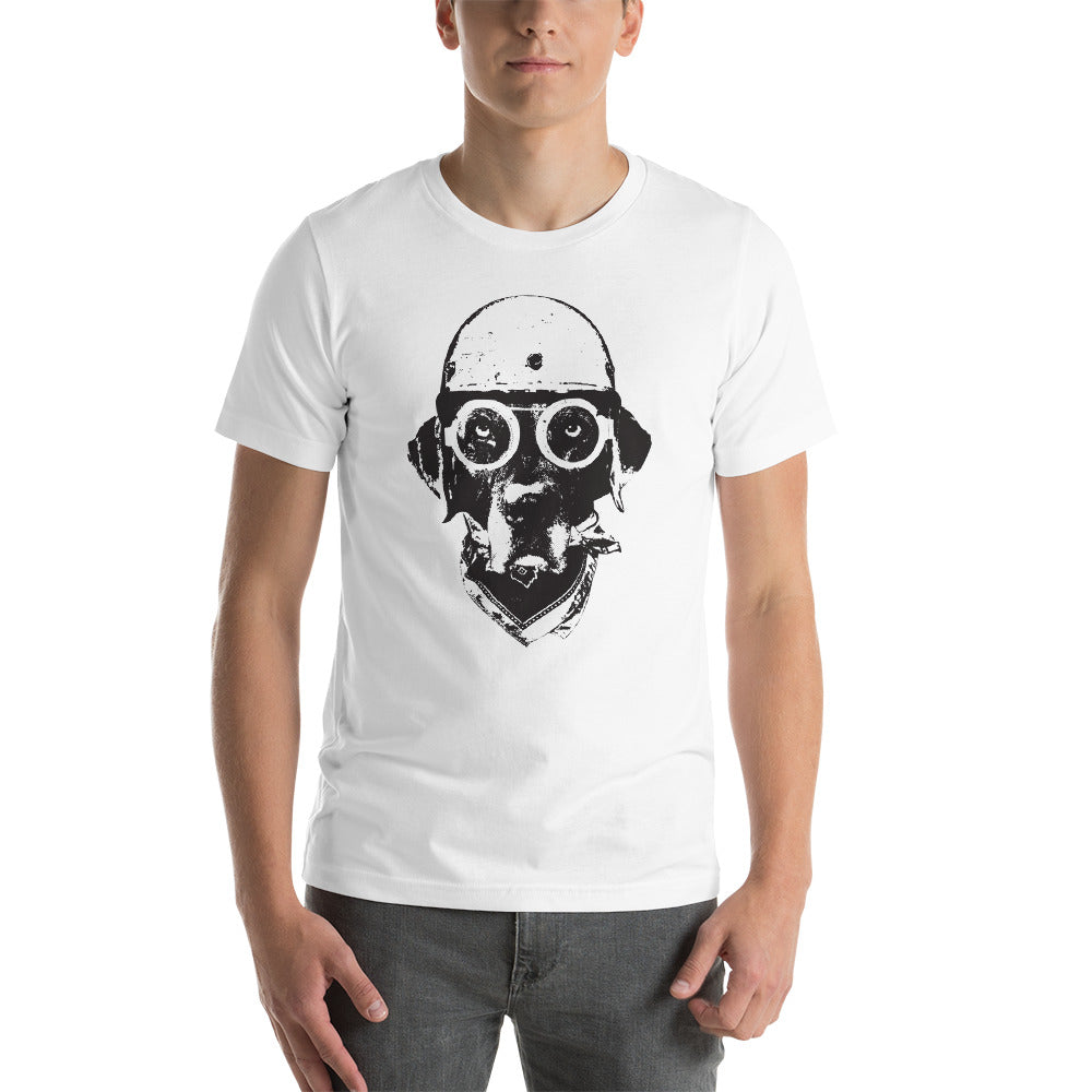 Men's Ride On Graphic Tee - White