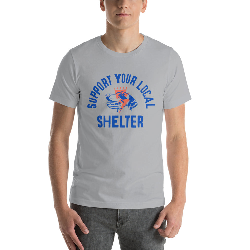 Men's Support Your Local Shelter Graphic Tee