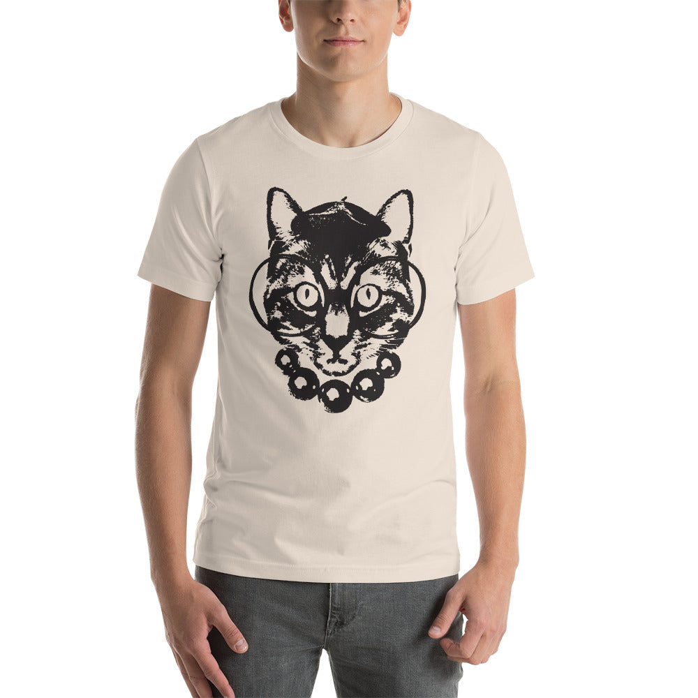 Men's Purrrfection Darling Graphic Tee - Soft Cream