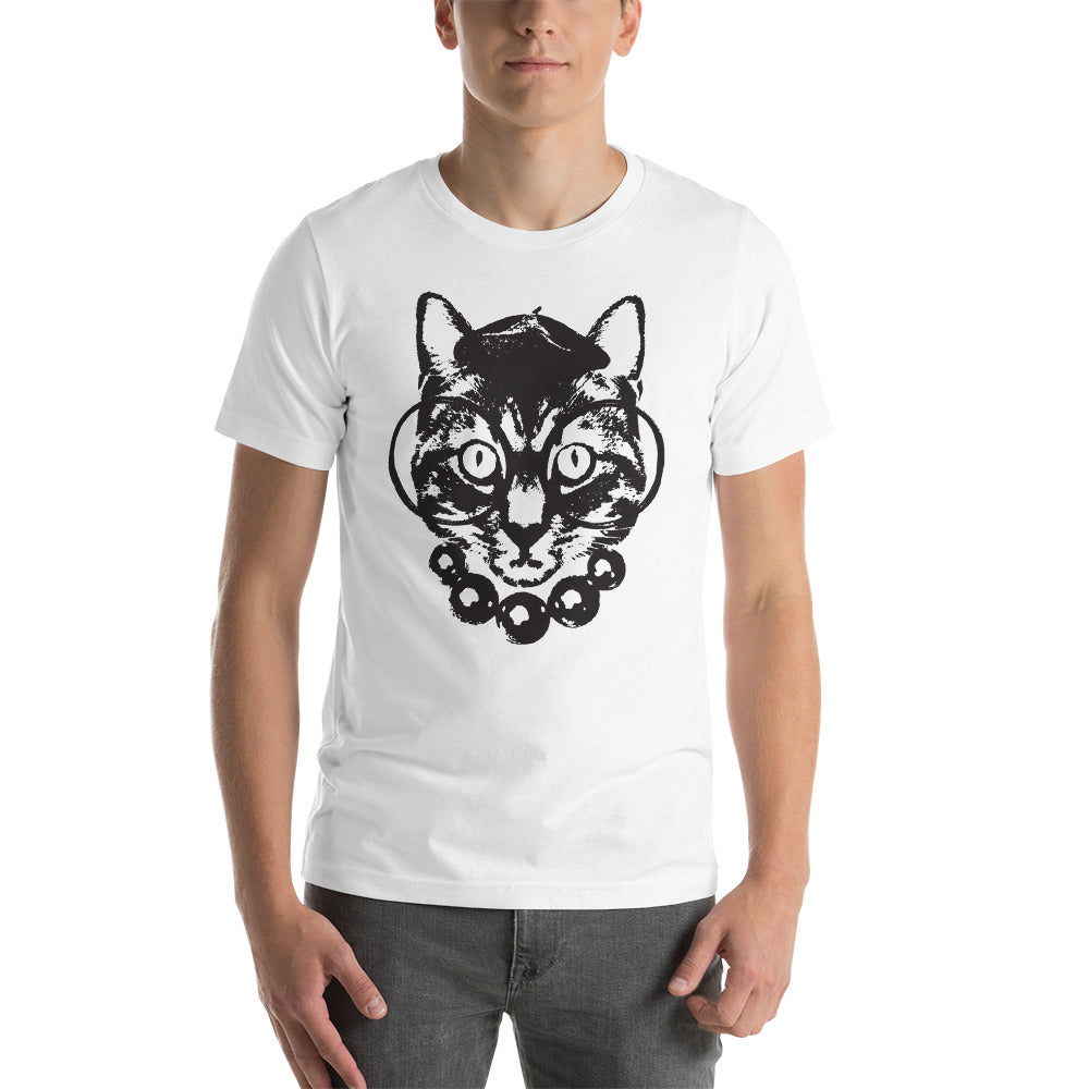 Men's Purrrfection Darling Graphic Tee - White