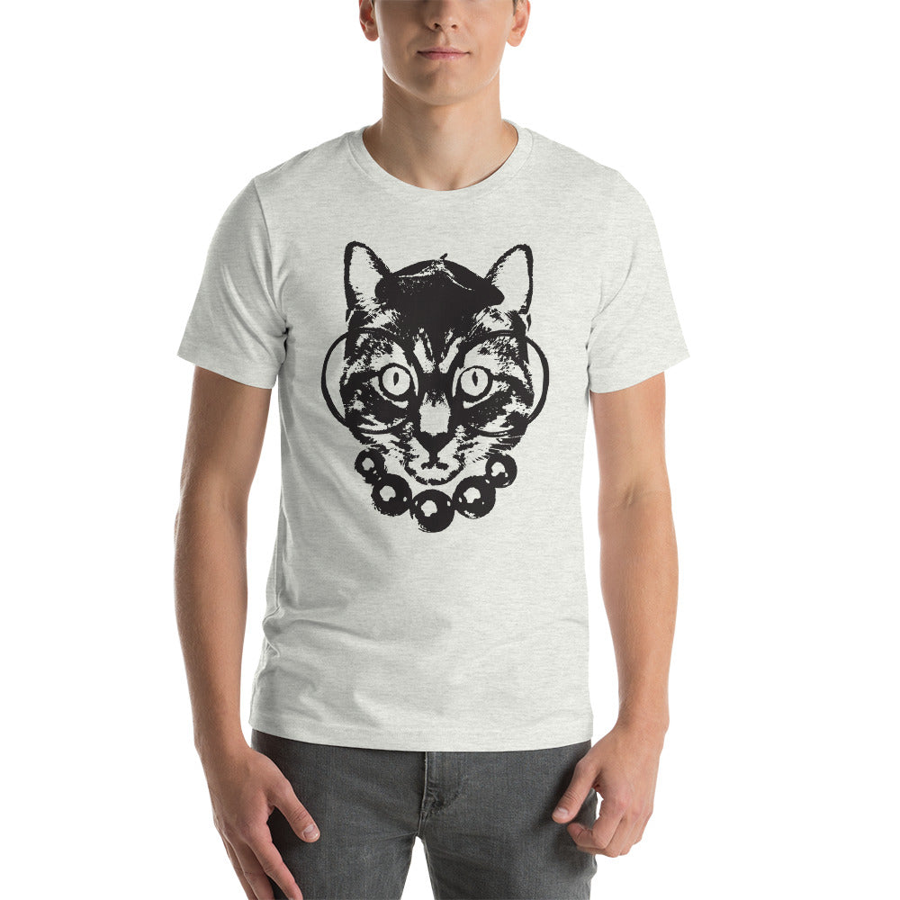 Men's Purrrfection Darling Graphic Tee - Ash
