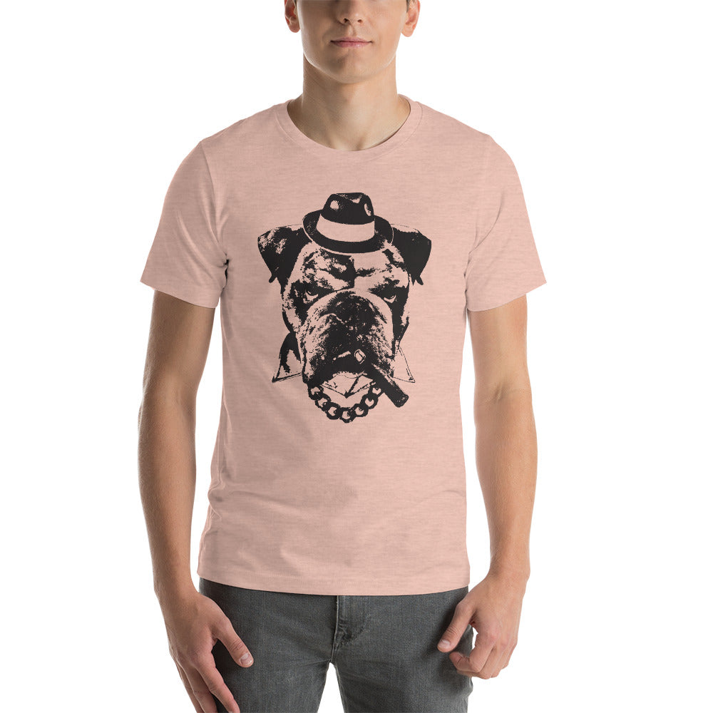 Men's Yousa Good Fella Graphic Tee - Heather Prism Peach