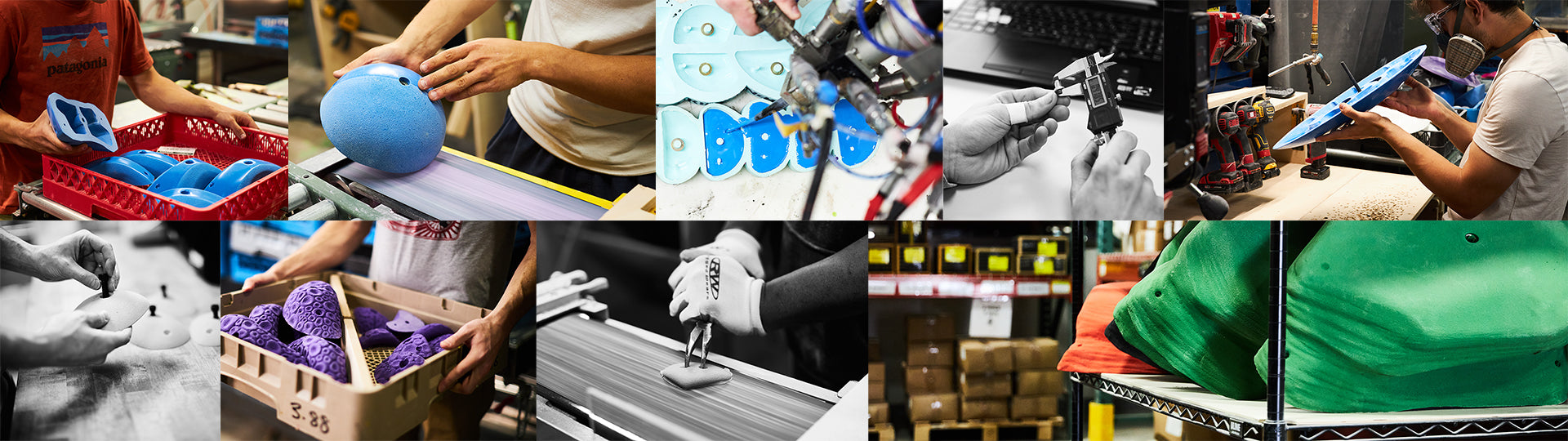 Manufacturing Collage