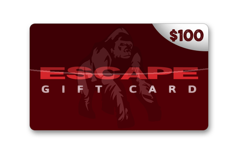 Official Escape $100 Gift Card