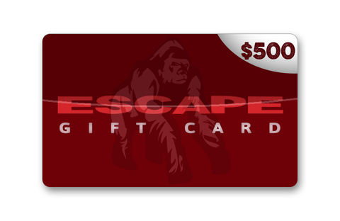 Official Escape $500 Gift Card