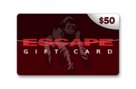 Official Escape $50 Gift Card