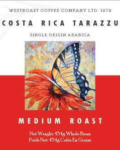 Costa Rica Tarrazu Filter Coffee Net Weight: 454g.