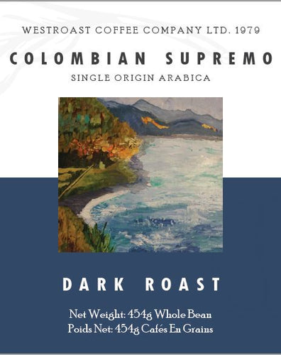 Colombian Supremo Filter Coffee Net Weight: 454g.