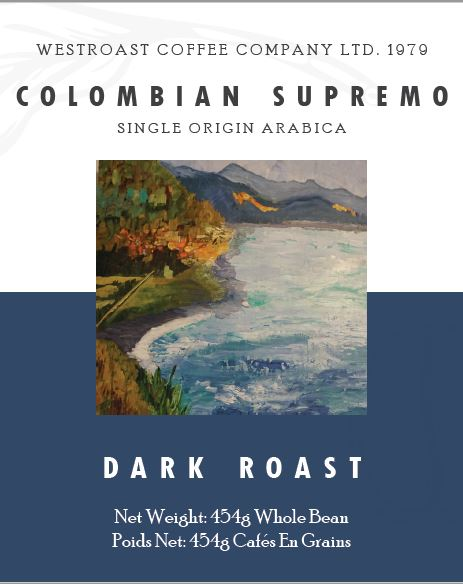 Colombian Supremo Filter Coffee 454g.