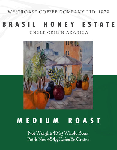 Brasil Honey Estate Filter Coffee Net Weight: 454g.