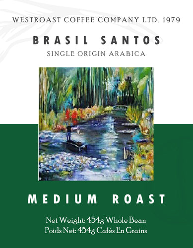 Brasil Santos Filter Coffee Net Weight: 454g.