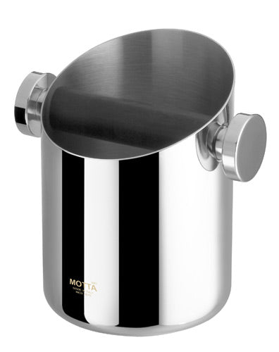 Motta Knock Box Stainless Steel Small 105mm.
