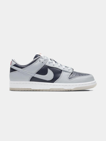 Women's Nike Dunk Low SP (College Navy / Wolf Grey - University Red)