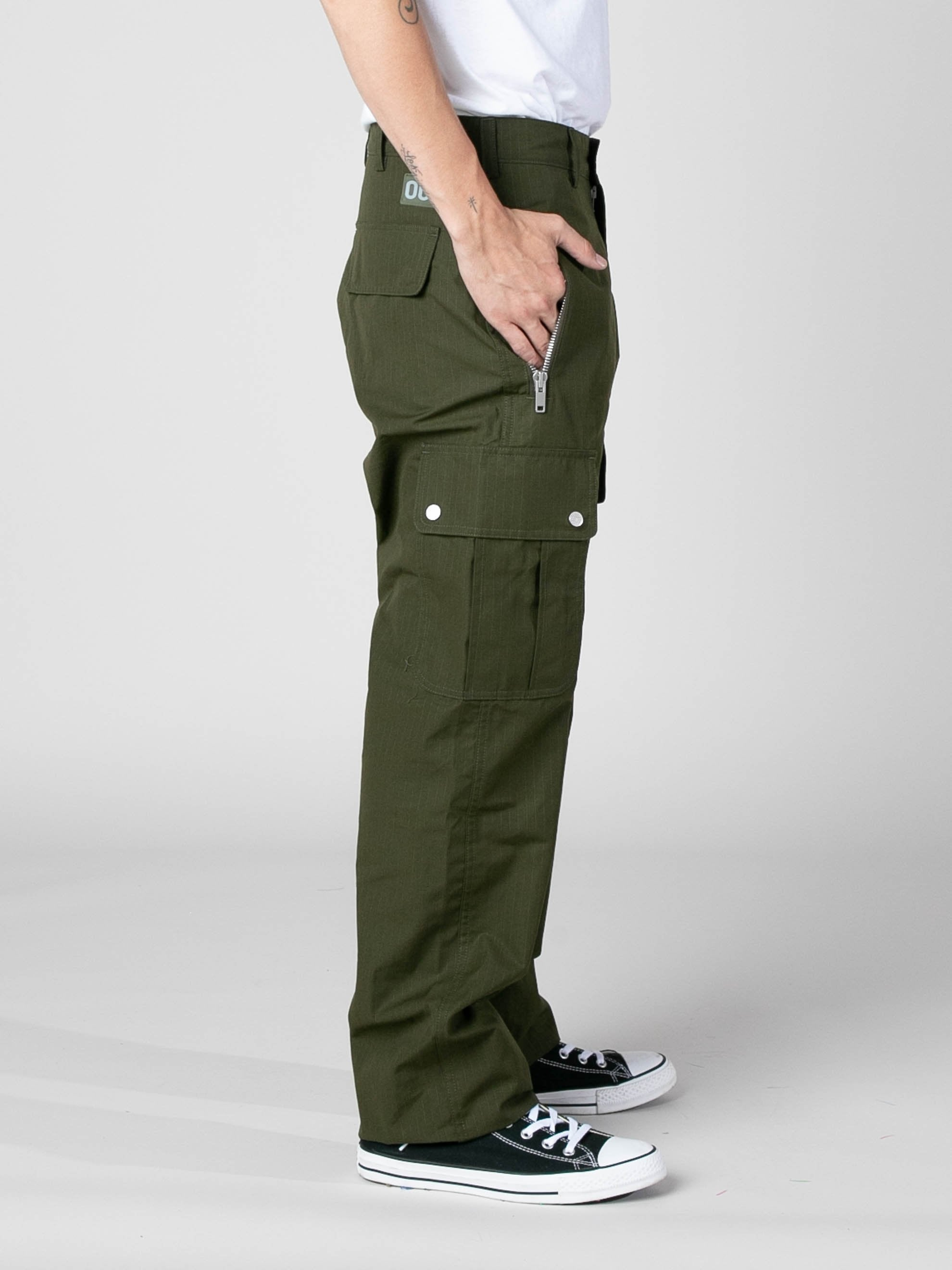 Olive Jungle Pants 4