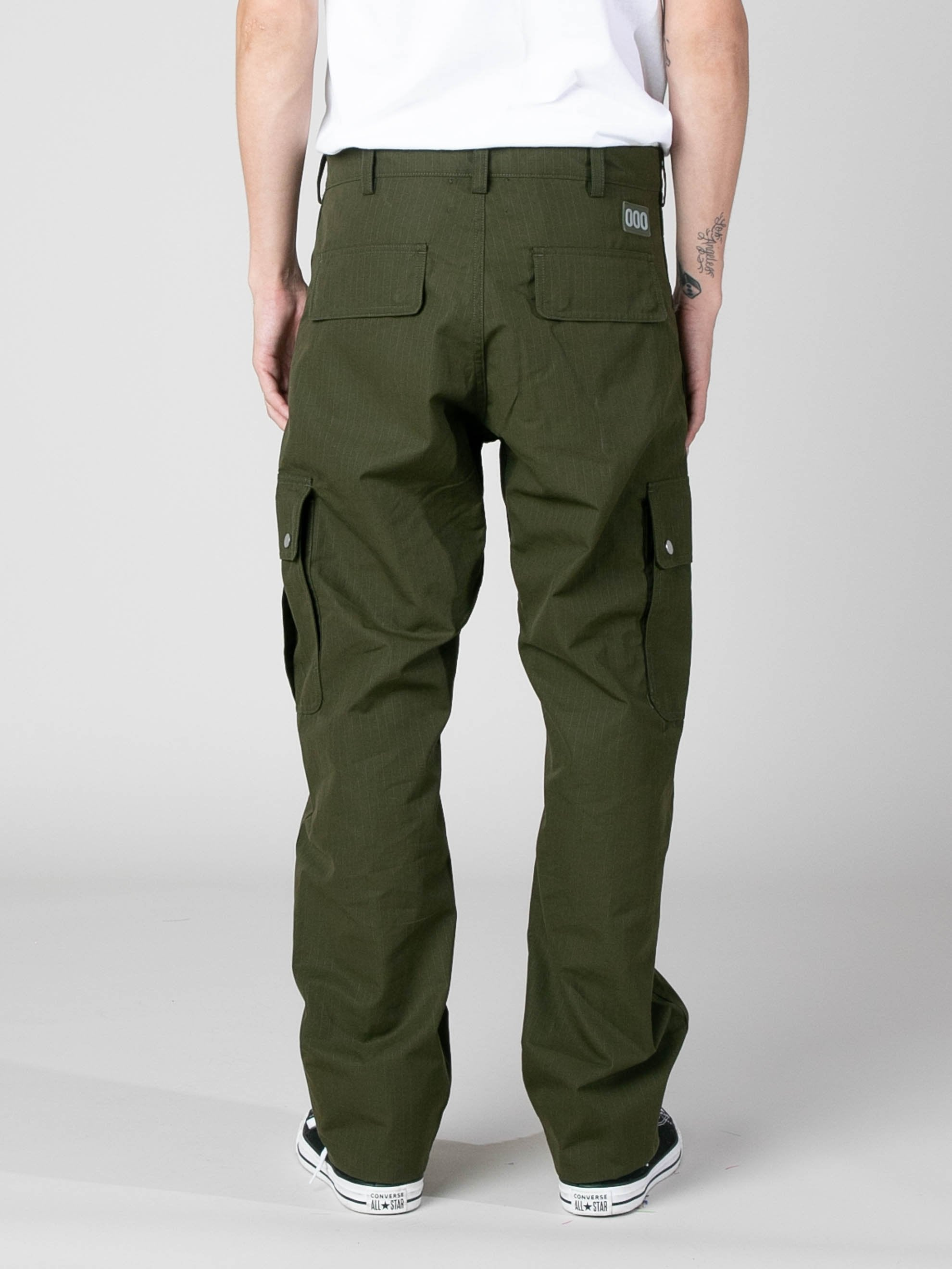 Olive Jungle Pants 6
