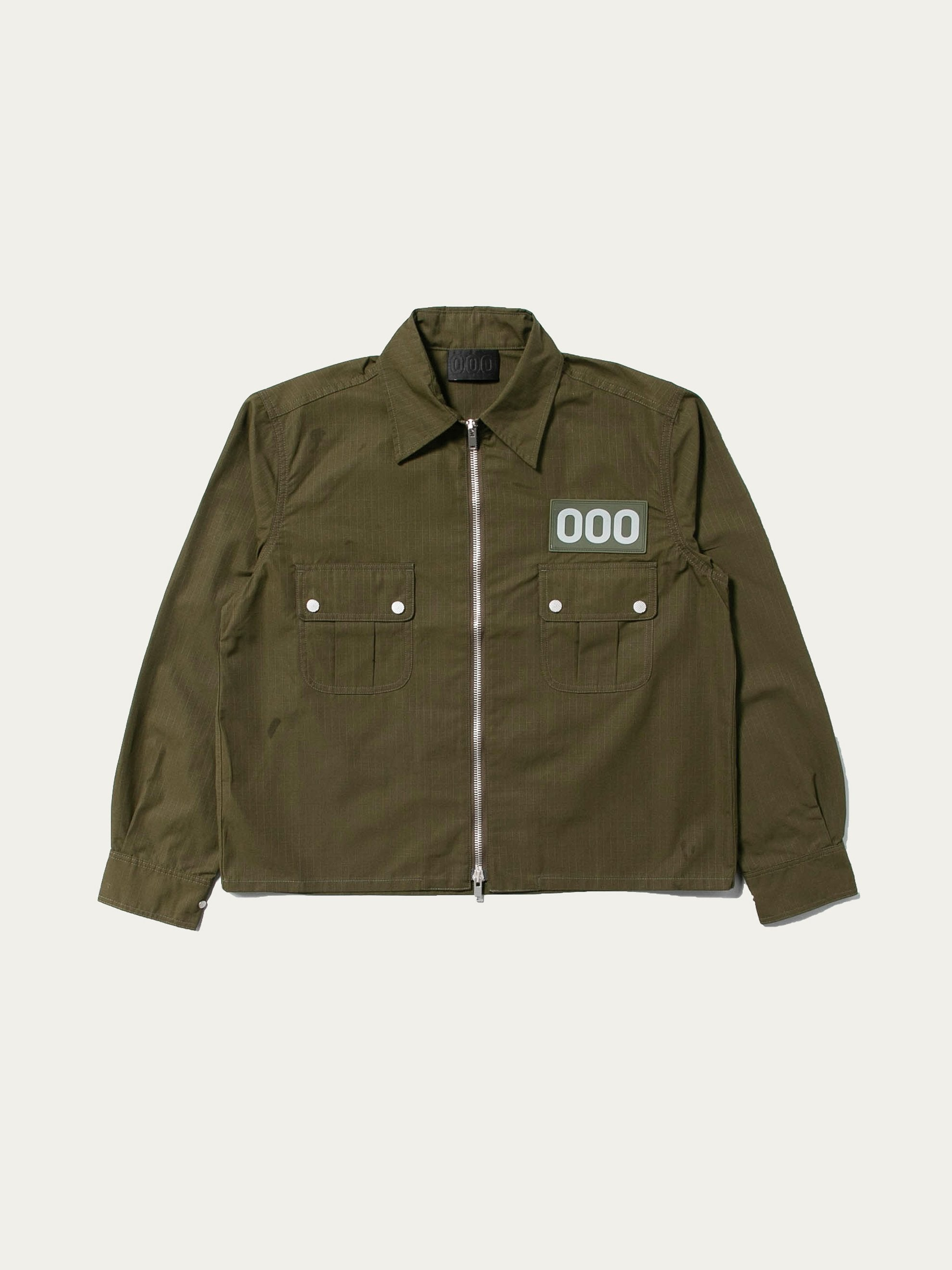 Olive Jungle Shirt 1