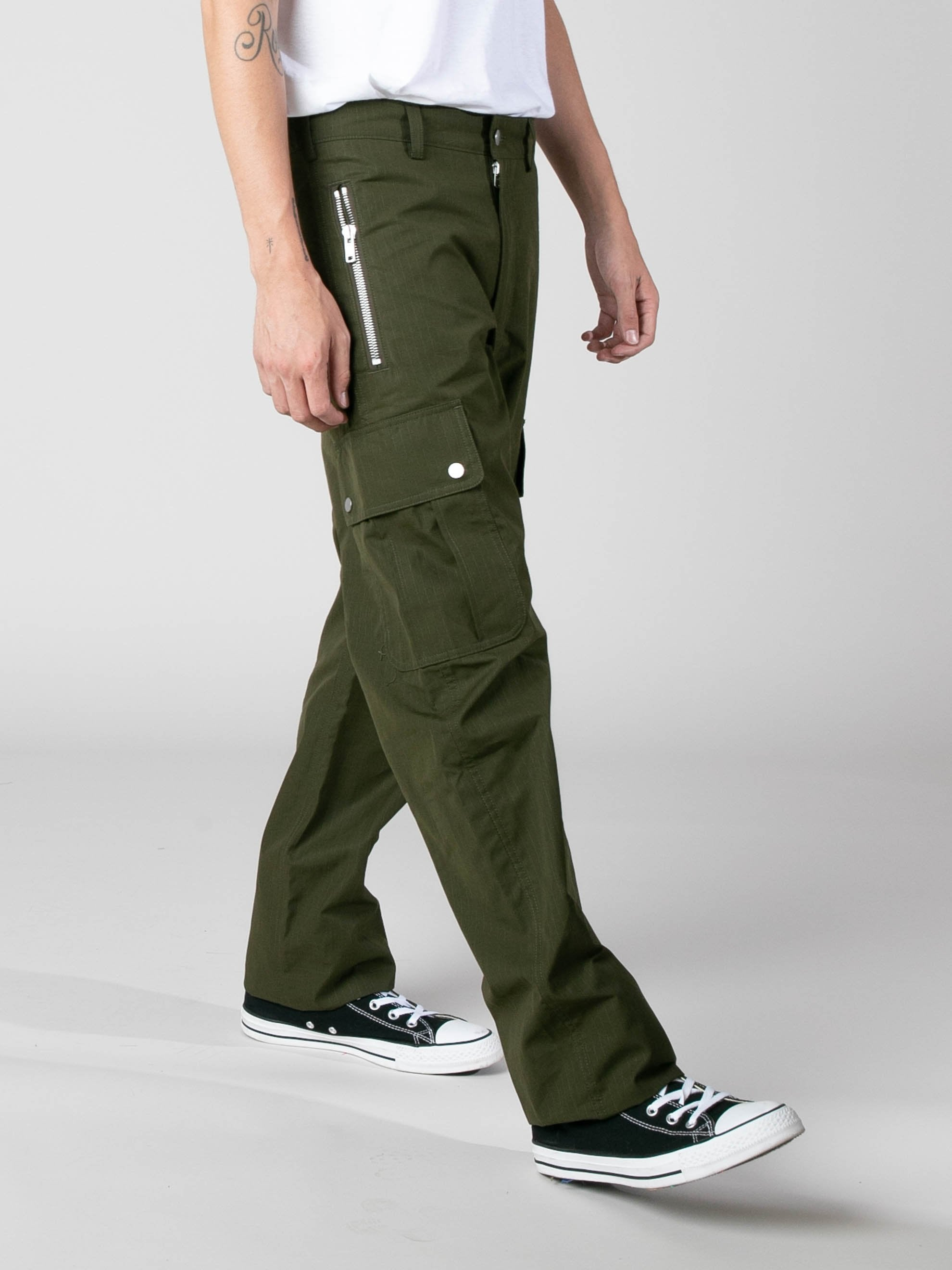 Olive Jungle Pants 5