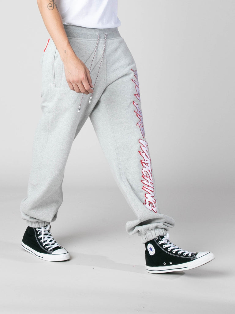 Grey They Are Watching Sweatpants 613570395897933