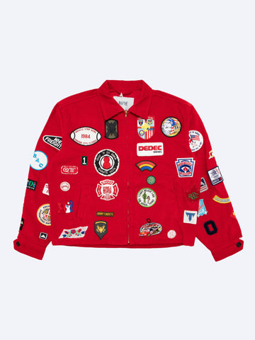 Multi Patch Jacket