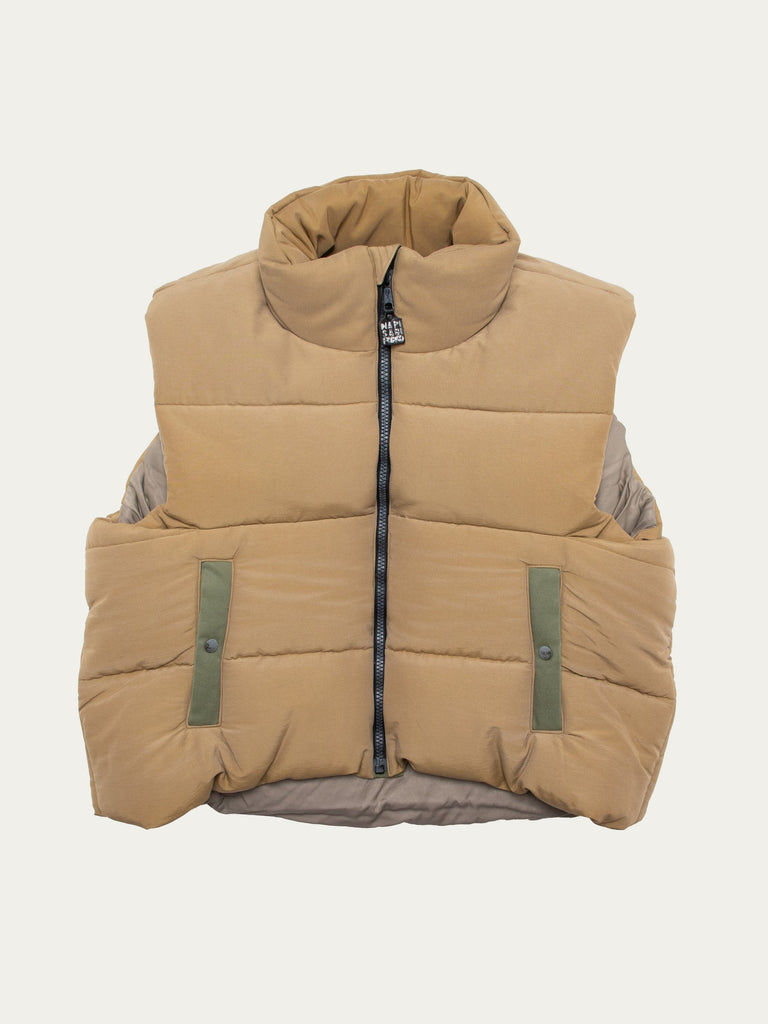 60/40 Cloth BURGER-KEEL Vest (SNOW Fade)