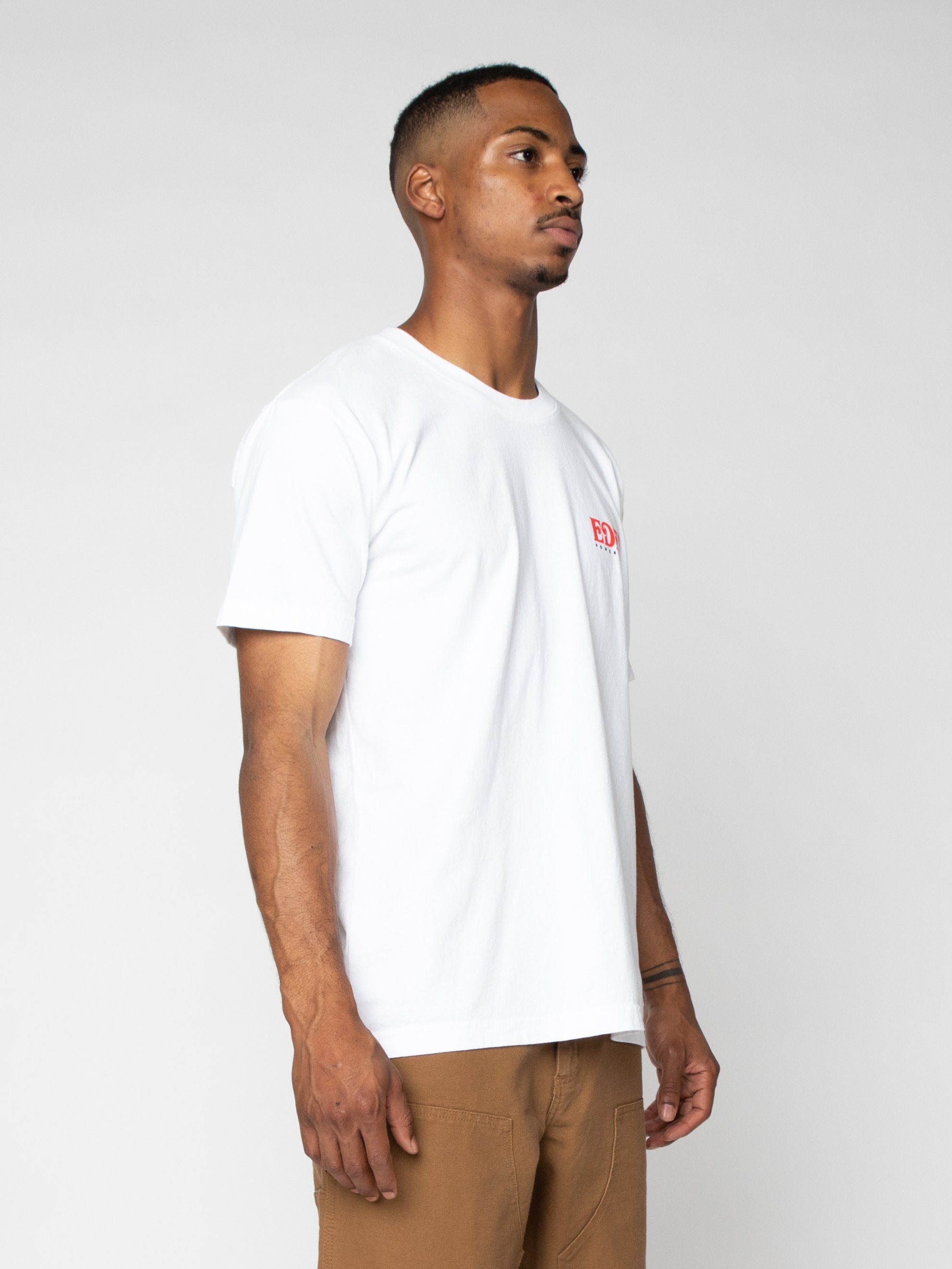 White Eden Recycled T-shirt 4