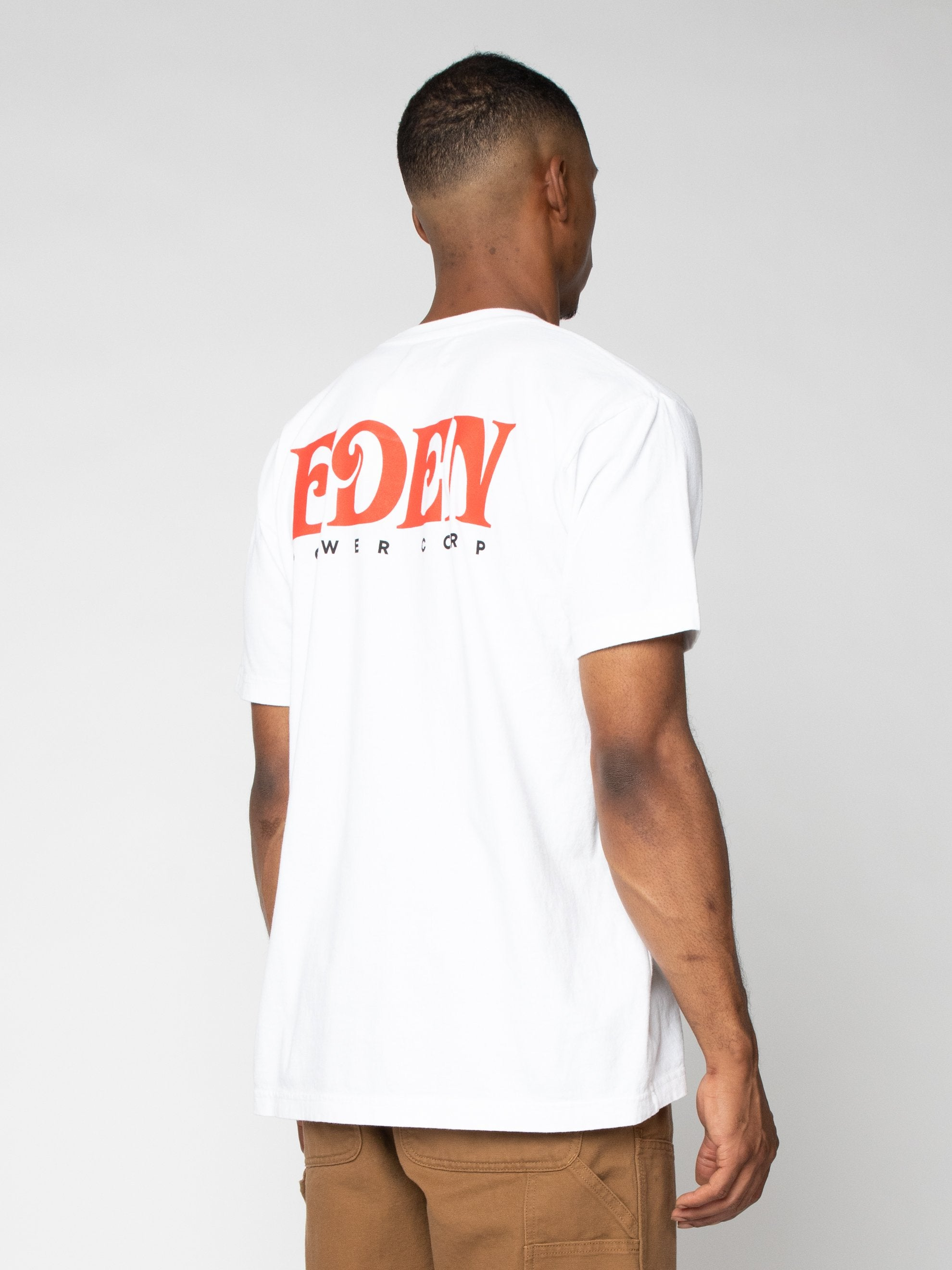 White Eden Recycled T-shirt 5