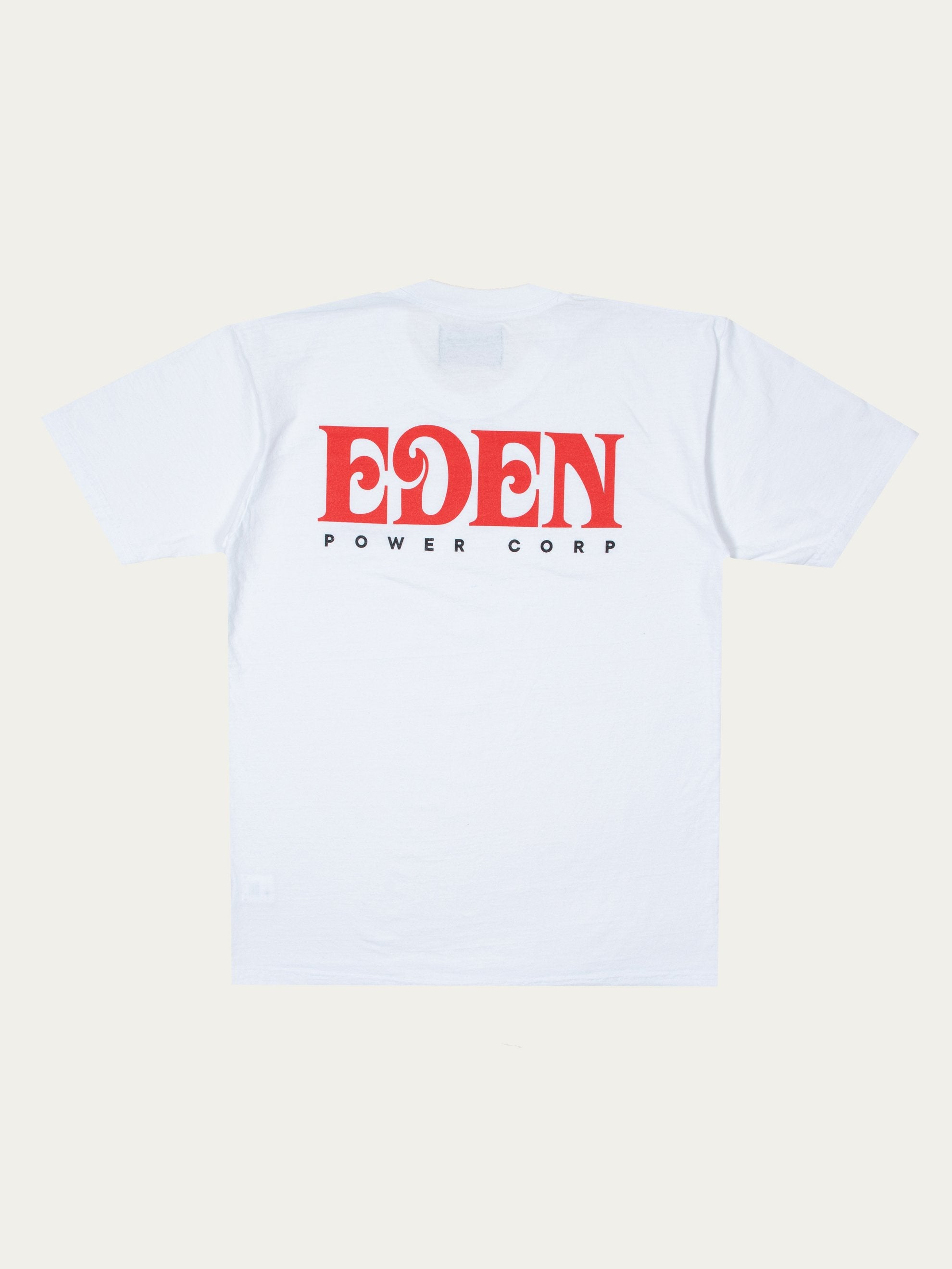 White Eden Recycled T-shirt 1