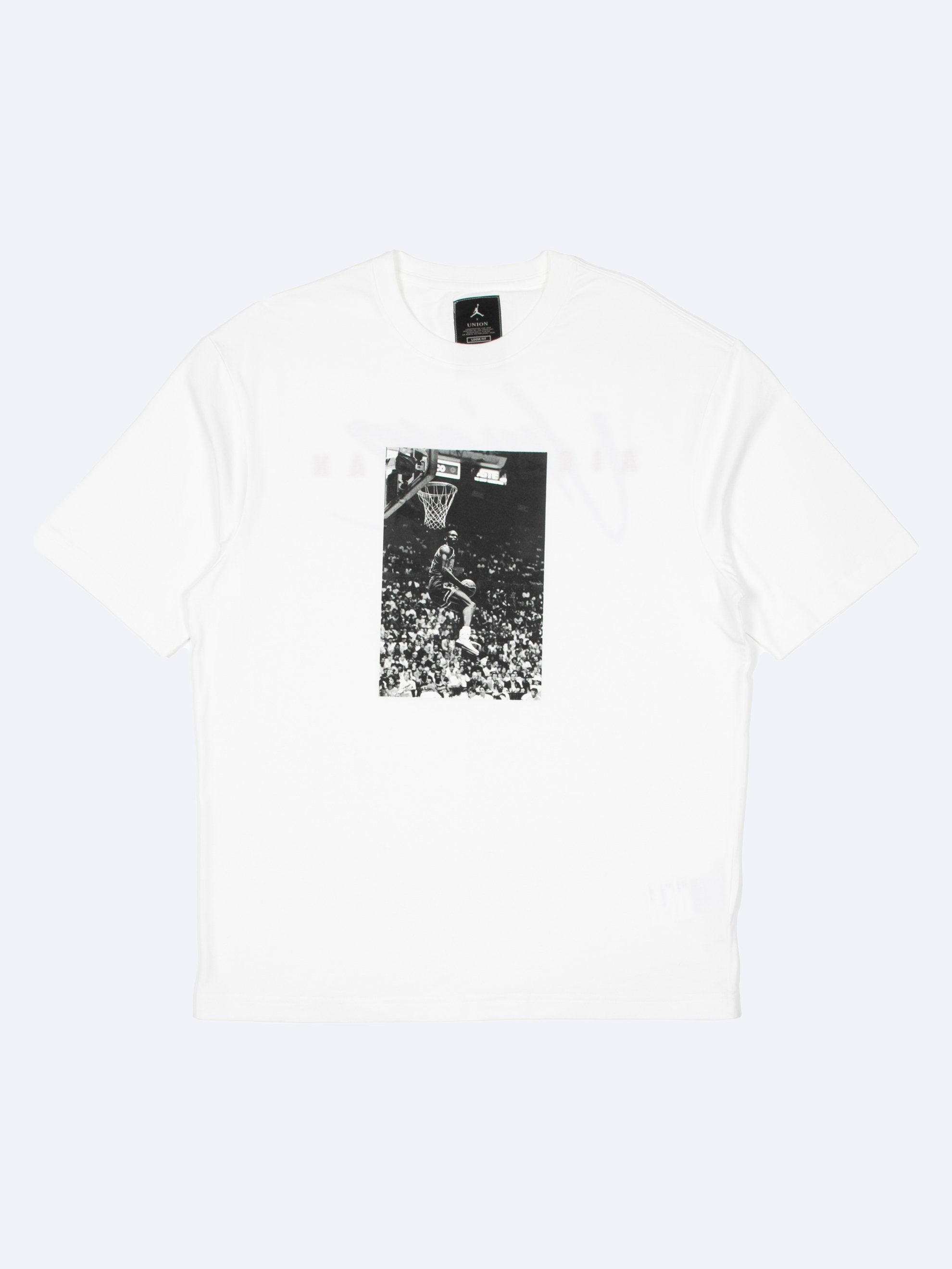 White Reverse Dunk T-Shirt 1
